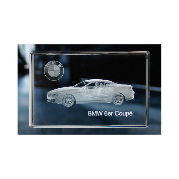 Standard 3D Glaskristall BMW 6er Coupe