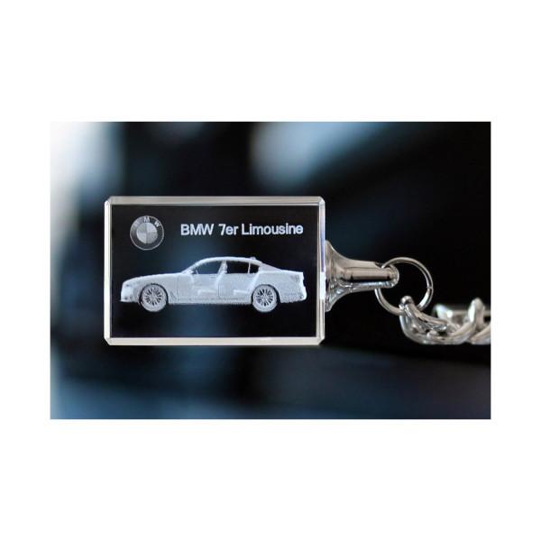 Standard 3D Keyring BMW 7er Limousine