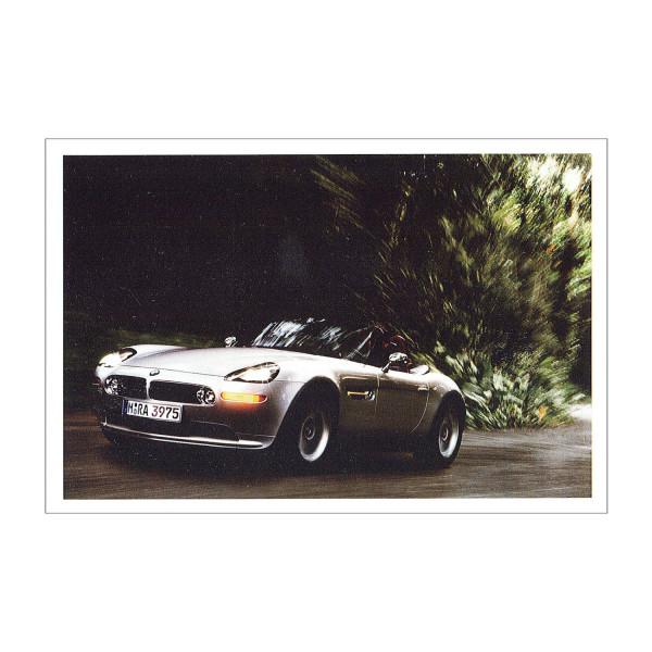 Postkarte BMW Z8, 1999-2003