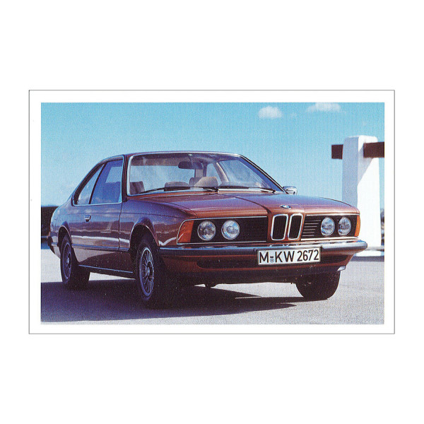 Postkarte BMW 630CS, 633CSi (1976-1982)