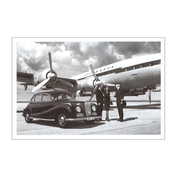Postkarte BMW 501 Achtzylinder