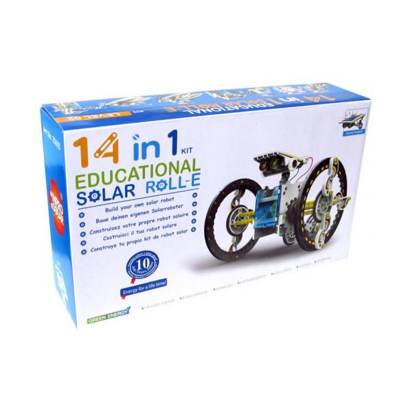 Solar Robot Roll-E 14 in 1