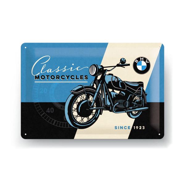 BMW Blechschild Classic