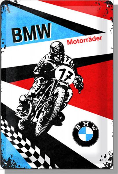 BMW Blechschild Motorräder