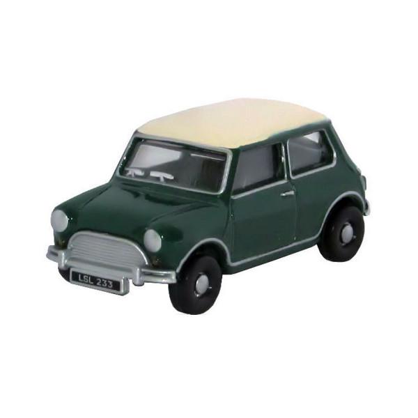 MINI Cooper grün/weiß, 1:76
