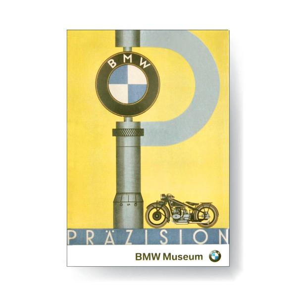 BMW Museum Magnetbild - Plakat Präzision