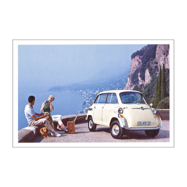 Postkarte BMW 600