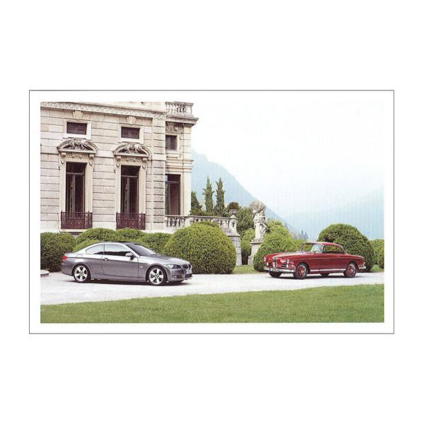 Postkarte BMW 335i, BMW 503 Coupé