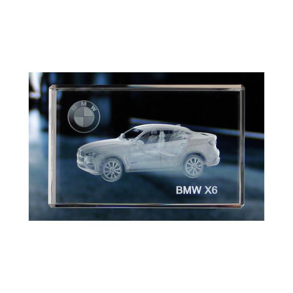 Standard 3D Glaskristall BMW X6
