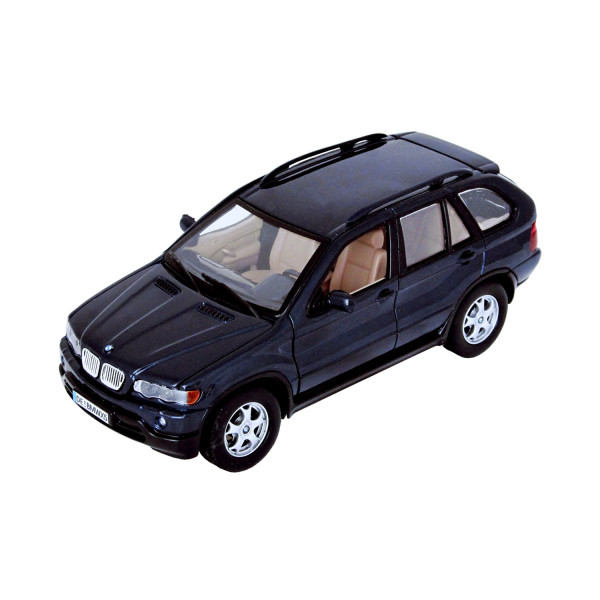 BMW X5 - metallicblau 1:24