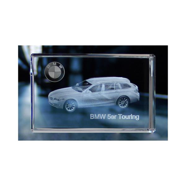 Standard 3D Glaskristall BMW 5er Touring