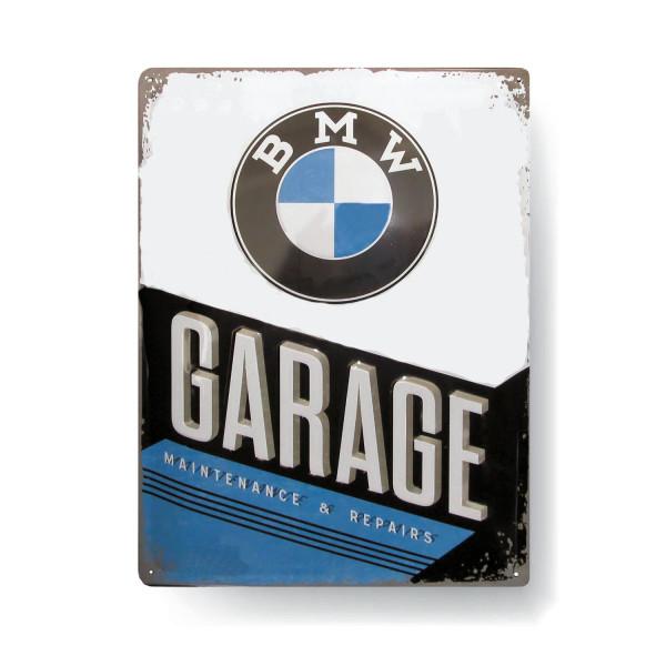 BMW Blechschild Garage
