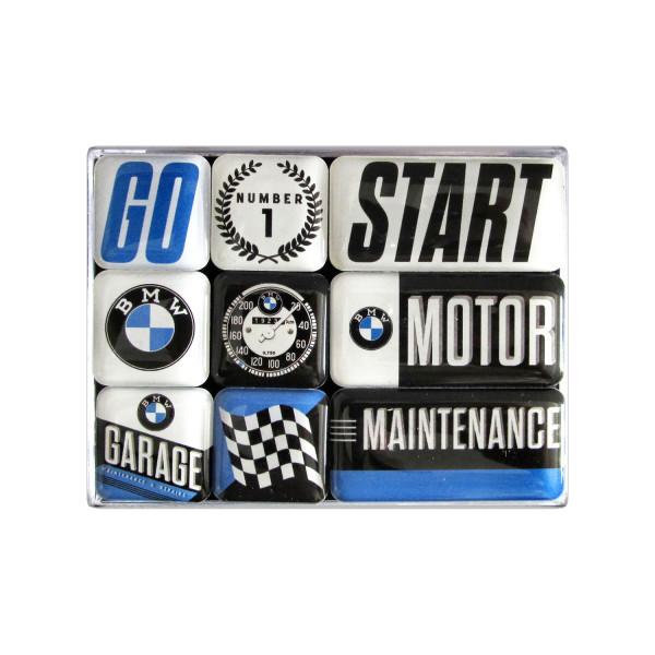 BMW Magnetset Motor 7 x 9 x 2 cm