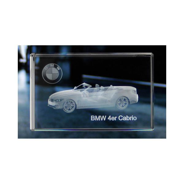 Standard 3D Glaskristall BMW 4er Cabrio