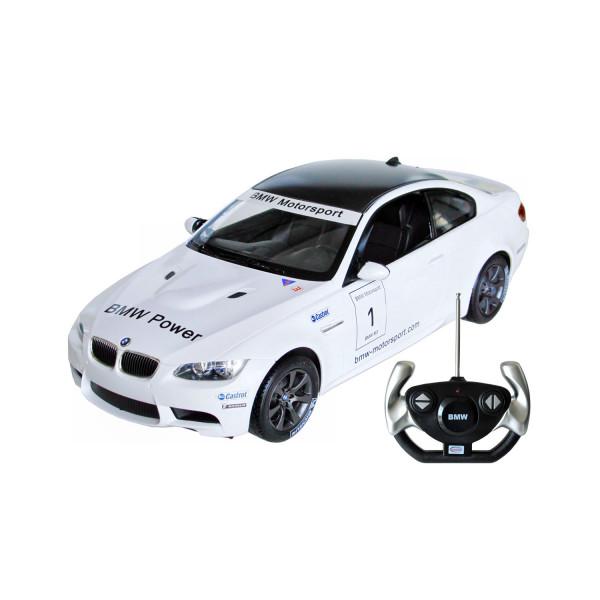 BMW M3 Sport mit Fernsteuerung - weiß 1:14