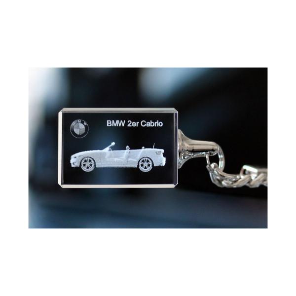 Standard 3D Keyring BMW 2er Cabrio