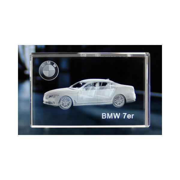Standard 3D Glaskristall BMW 7er Limousine