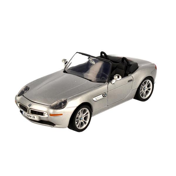 BMW Z8 Roadster silver, 1:24
