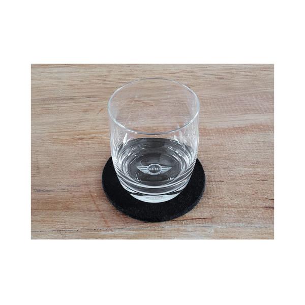 3D Trinkglas MINI Logo 0,2l
