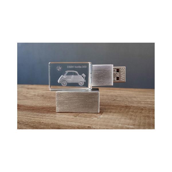 3D USB Stick BMW Isetta - 64GB silber