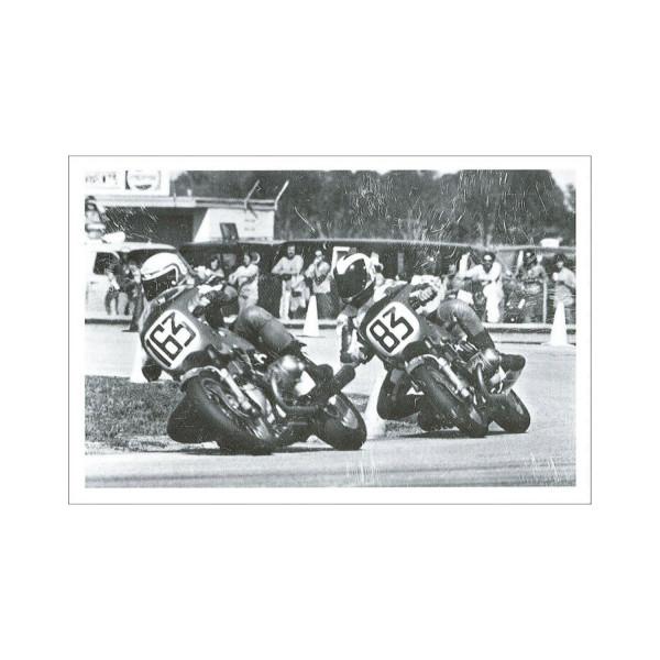 Postkarte Doppel-Erfolg Superbikerennen
