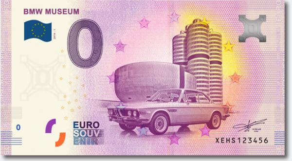 Euroschein BMW Museum - BMW 3.0 CSL