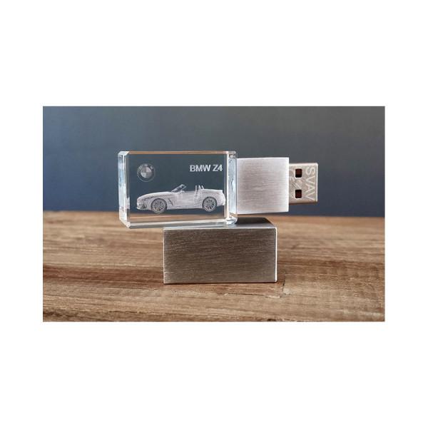 3D USB Stick BMW Z4 - 64GB silber