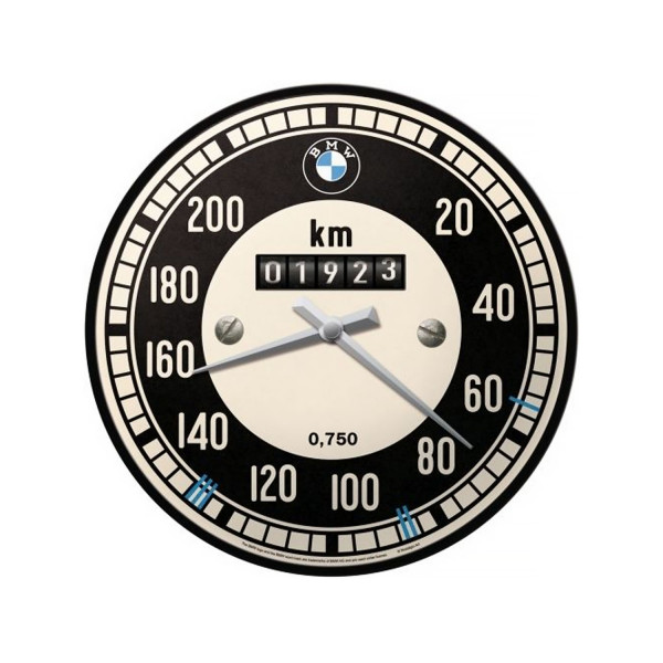 BMW Wanduhr Tachometer