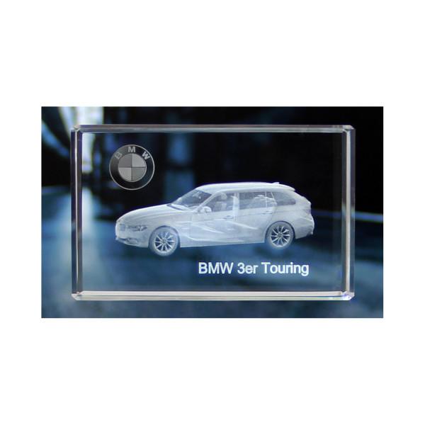 Standard 3D Glaskristall BMW 3er Touring