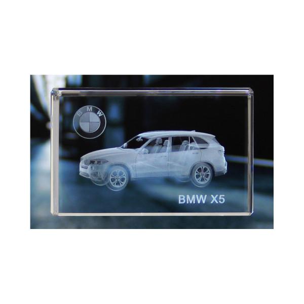 Standard 3D Glaskristall BMW X5