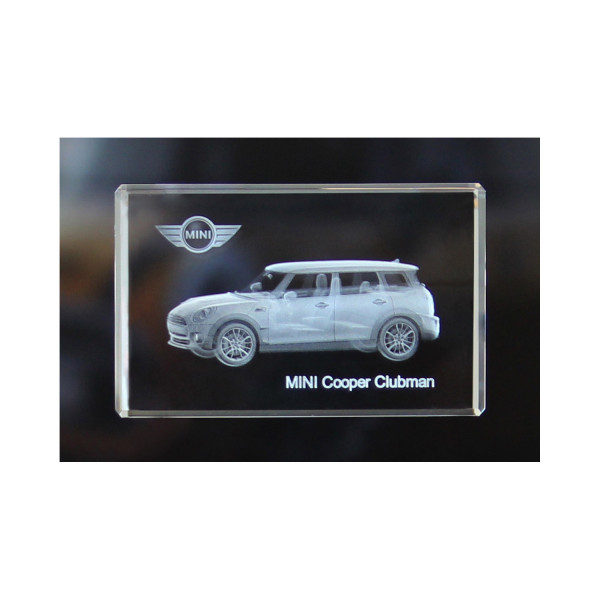 Standard 3D Glaskristall MINI Cooper Clubman