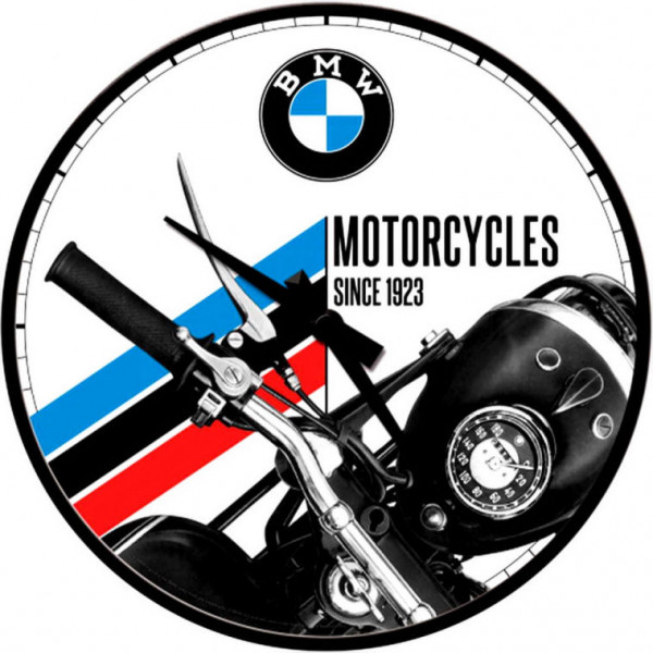 BMW Wanduhr Motorcycles Since 1923
