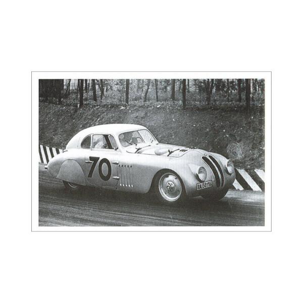 Postkarte BMW 328 Touring Coupé (1940)