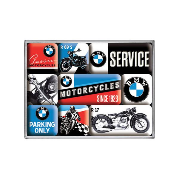 BMW Magnetset Motorcycles 7 x 9 x 2 cm