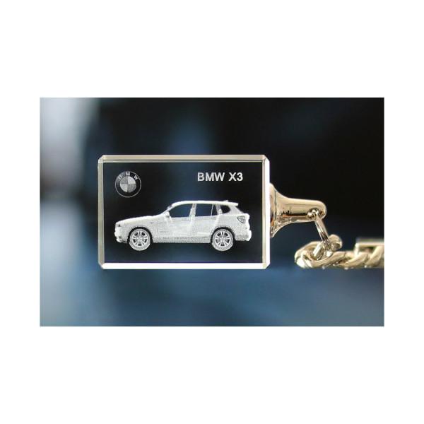 Standard 3D Keyring BMW X3