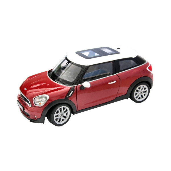 MINI Cooper Paceman metallic red/white, 1:24