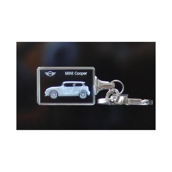 Standard 3D Keyring MINI Cooper3-Türer