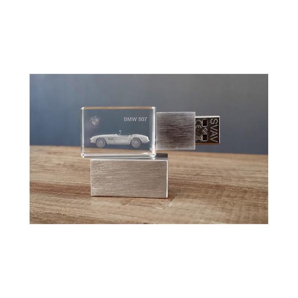 3D USB Stick BMW 507 - 64GB silber