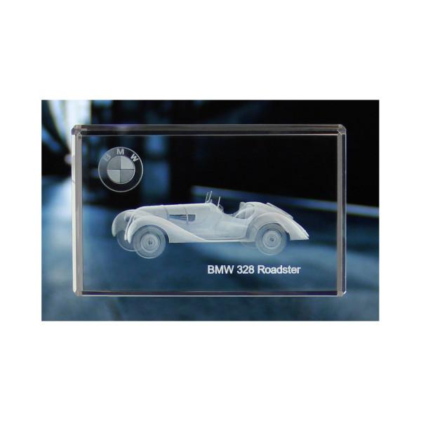 Standard 3D Glaskristall BMW 328 Roadster 1936