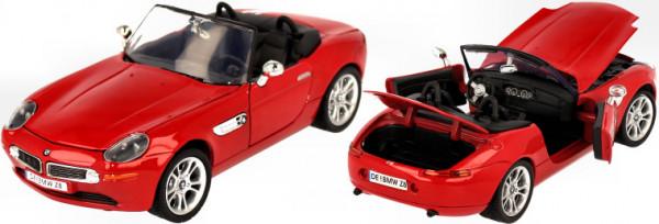 BMW Z8 Roadster red, 1:24