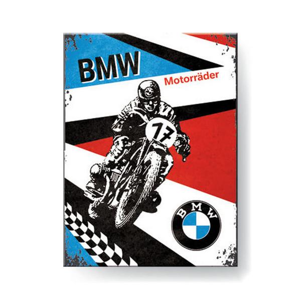 BMW Magnet Motorräder 8x6 cm
