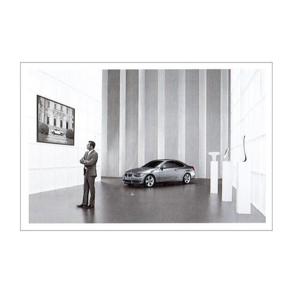 Postkarte BMW 335i