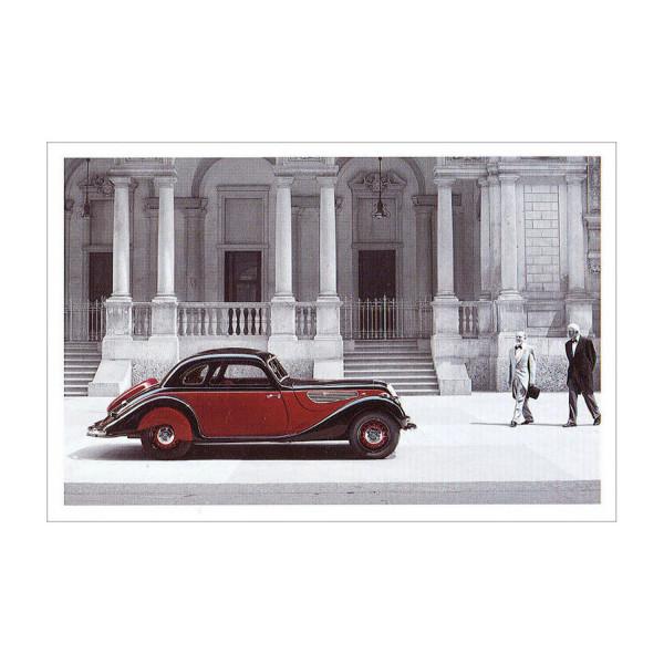 Postkarte BMW 327/28 Coupé
