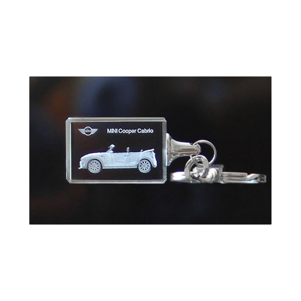 Standard 3D Keyring MINI Cooper Cabrio
