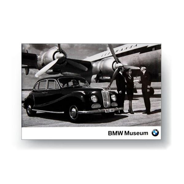BMW Museum Magnetbild - 501 Achtzylinder