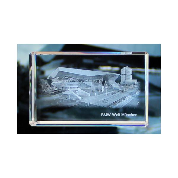Standard 3D Glaskristall BMW Welt