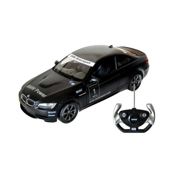 BMW M3 Sport mit Fernsteuerung - schwarz 1:14