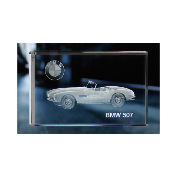 Standard 3D Glaskristall BMW 507