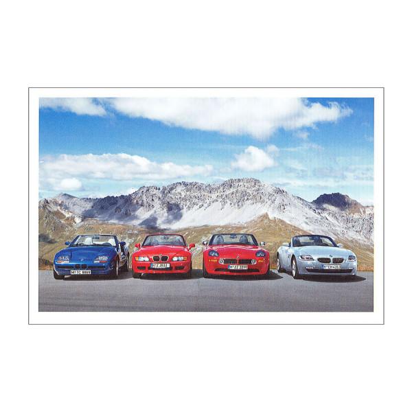 Postkarte BMW Z8, Z4 3.0si