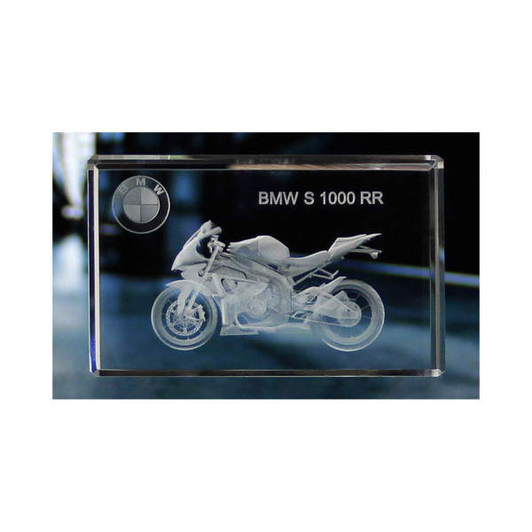 Standard 3D Glaskristall BMW S 1000 RR